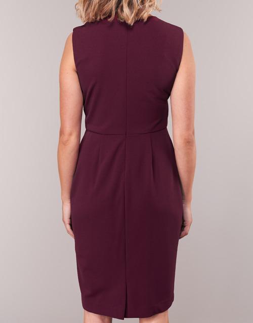 Textil Ruby Sleeveless Vestidos Largos Mujer Burdeo Dress Day Ralph Lauren 0wOZnXNP8k