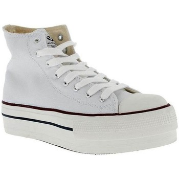 Zapatos Mujer Zapatillas altas Victoria 061101 Blanco