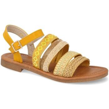 Zapatos Mujer Sandalias Amy N961 Amarillo