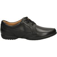 Zapatos Hombre Derbie Clarks RECLINE OUT black-nero
