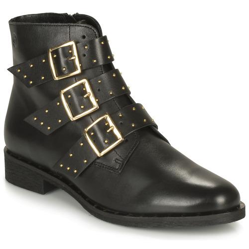 Zapatos Mujer Botas de caña baja Betty London LYS Negro