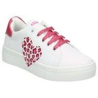 Zapatos Niños Zapatillas bajas Asso AG550-851 blanc