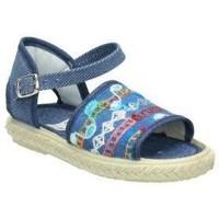 Zapatos Niños Tenis Vulca-bicha Lonas  833 niña azul bleu