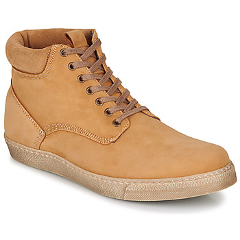 Zapatos Hombre Botas de caña baja Casual Attitude LEO Beige