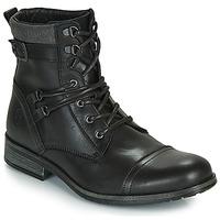 Zapatos Hombre Botas de caña baja Casual Attitude RIVIGH Negro