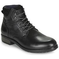 Zapatos Hombre Botas de caña baja Casual Attitude LULLY Negro
