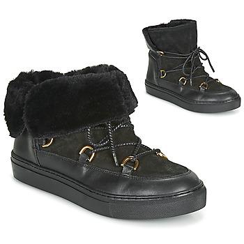 Zapatos Mujer Botas de nieve Casual Attitude LONE Negro