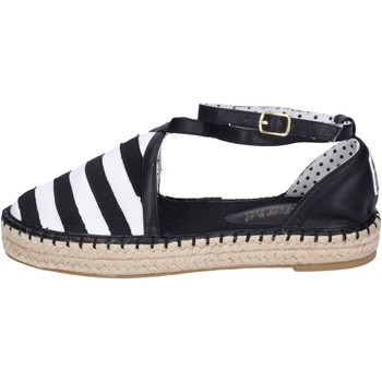Zapatos Mujer Alpargatas O-joo sandalias lona negro