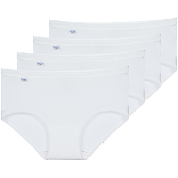 Ropa interior Mujer Culote y bragas Sloggi BASIC+ X 4 Blanco