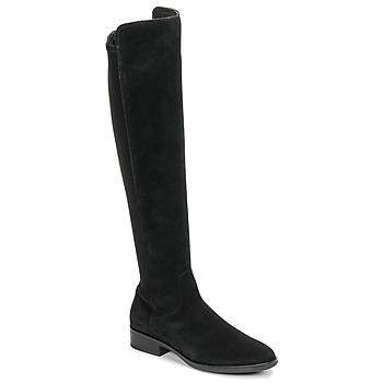 Zapatos Mujer Botas a la rodilla Clarks PURE CADDY Negro