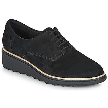 Zapatos Mujer Derbie Clarks SHARON NOEL Negro
