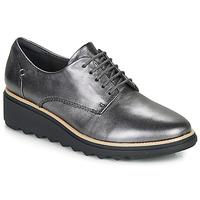 Zapatos Mujer Derbie Clarks SHARON NOEL Plateado