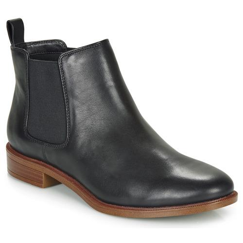 Zapatos Mujer Botas de caña baja Clarks TAYLOR SHINE Negro