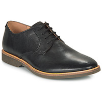 Zapatos Hombre Derbie Clarks ATTICUS LACE Negro
