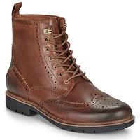 Zapatos Hombre Botas de caña baja Clarks BATCOMBE LORD Camel