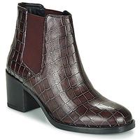 Zapatos Mujer Botines Clarks MASCARPONE Burdeo