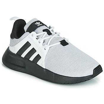 Zapatos Niños Zapatillas bajas adidas Originals X_PLR C Gris / Negro