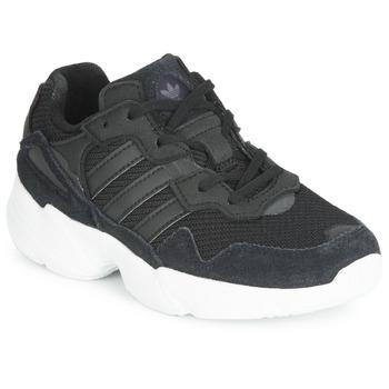 Zapatos Niños Zapatillas bajas adidas Originals YUNG-96 C Negro
