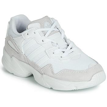 Zapatos Niños Zapatillas bajas adidas Originals YUNG-96 C Blanco