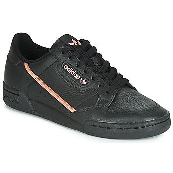 Zapatos Mujer Zapatillas bajas adidas Originals CONTINENTAL 80 W Negro