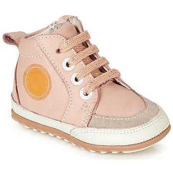 Zapatos Niña Botas de caña baja Robeez MIGO Rosa