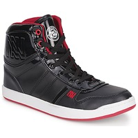 Zapatos Mujer Zapatillas altas Dorotennis BASKET CUIR NAPPA PU VERN Negro