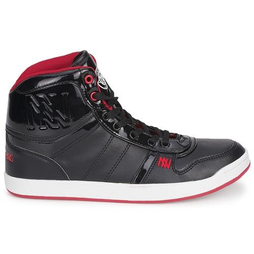 Zapatos Negro Vern Dorotennis Basket Nappa Mujer Altas Zapatillas Cuir Pu lJ3uF1TKc5