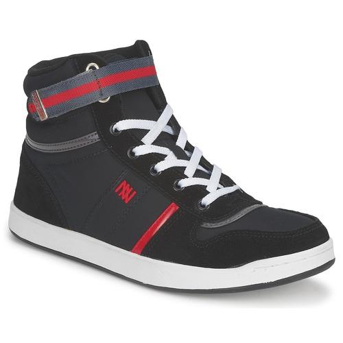 Zapatos Mujer Zapatillas altas Dorotennis BASKET NYLON ATTACHE Negro