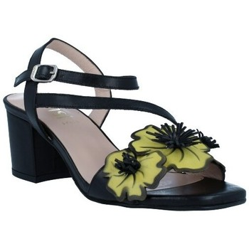 Zapatos Mujer Sandalias Dansi 1260 Sandalias con Tacón de Mujer negro