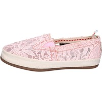 Zapatos Mujer Slip on O-joo slip on textil rosado