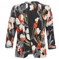 textil Mujer Chaquetas / Americana Betty London IOUPA Negro / Multicolor