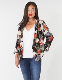textil Mujer Chaquetas / Americana Betty London IOUPA Negro / Multicolor