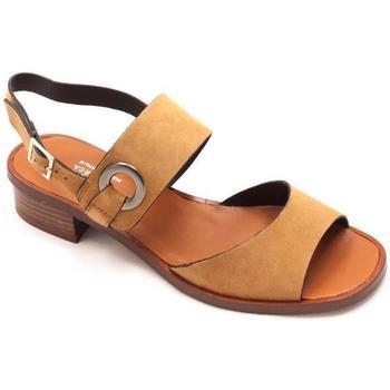 Zapatos Mujer Sandalias Plumers 3003 Beige