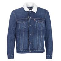 textil Hombre chaquetas denim Levi's TYPE 3 SHERPA TRUCKER Palmer / Sherpa / Trucker