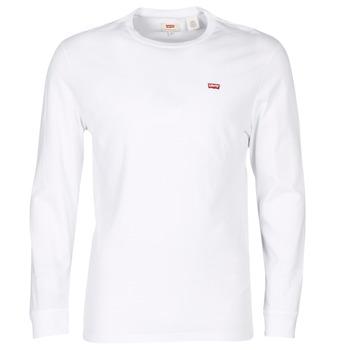 textil Hombre camisetas manga corta Levi's LS ORIGINAL HM TEE Blanco