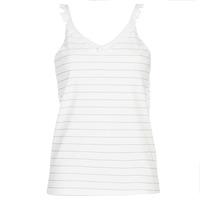 textil Mujer Tops / Blusas Betty London KATACEL Blanco / Dorado