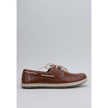Zapatos Hombre Zapatos náuticos Krack SOLEIL Marrón