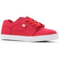 Zapatos Niños Zapatillas bajas DC Shoes Tonik TX Rojos