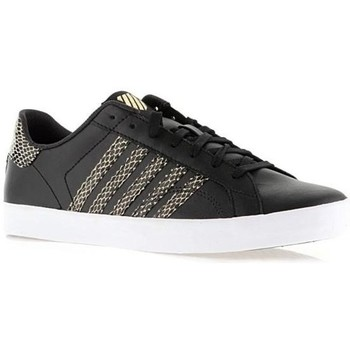 Zapatos Mujer Zapatillas bajas K-Swiss Belmont SO Negros,Dorado