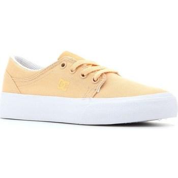 Zapatos Niños Tenis DC Shoes Trase TX Amarillos