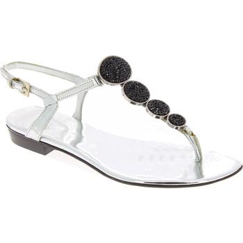 Zapatos Mujer Sandalias Barbara Bui J5407 SPJ 8010 argento