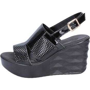 Zapatos Mujer Sandalias Querida sandalias cuero sintético negro