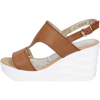 Zapatos Mujer Sandalias Querida sandalias cuero sintético marrón