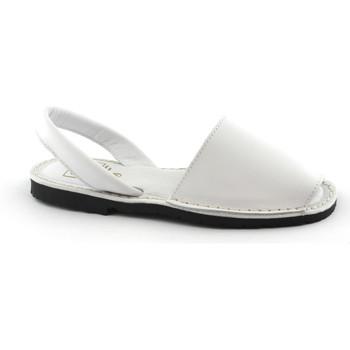 Zapatos Mujer Sandalias Ska -E19-IBIZA-DNB-BI Bianco