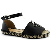 Zapatos Mujer Sandalias Ska -E19-REBEL-NE Nero