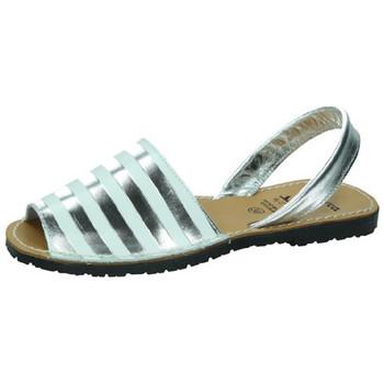 Zapatos Mujer Sandalias Avarca Cayetano Ortuño Menorquinas plata Plata