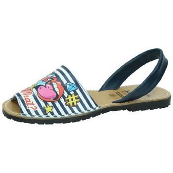 Zapatos Mujer Sandalias Avarca Cayetano Ortuño Menorquinas marino Azul