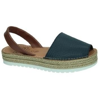 Zapatos Mujer Alpargatas Avarca Cayetano Ortuño Menorquina marino Azul