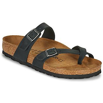 Zapatos Mujer Zuecos (Mules) Birkenstock MAYARI Negro