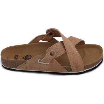 Zapatos Mujer Sandalias Nae Vegan Shoes Paxos Cork Marrón